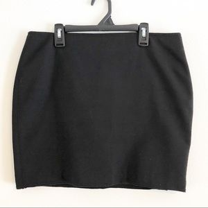 Zara Woman Black Pencil Skirt. Size Large